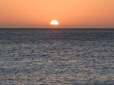We enjoyed a week of beautiful sunsets from our house; one night some of the guys even saw the famous green flash
