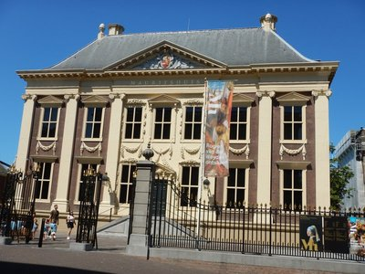 The Mauritshuis is the most famous art museum in The Hague; most of the works featured are Dutch Golden Age paintings