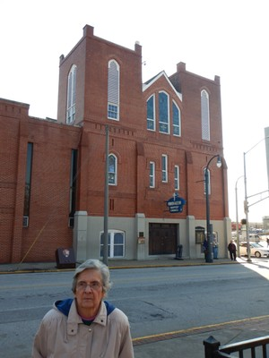 MLK and his father were pastors at Ebeneezer Baptist Church which was founded in 1886; the church is part of the MLK National Historic Park, all of which is free