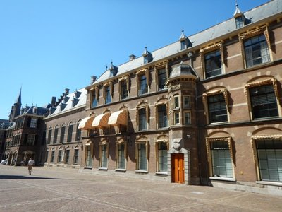The Binnenhof is a complex of buildings that houses the office of the Prime Minister and both houses of Parliament; built primarily in the 13th century, it is the oldest house of parliament still in use in the world