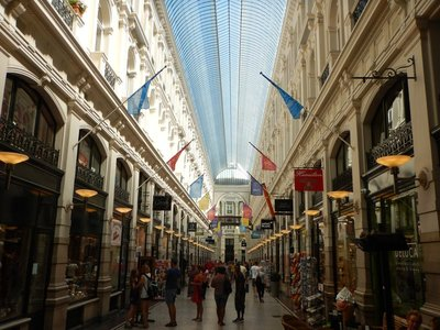 De Passage is a 120 year old glass-covered shopping arcade; the tram fare from Delft to The Hague is 3.50 euros and easier than taking the train