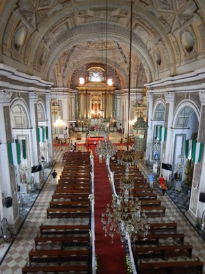The beautiful Baroque San Agustin Church is a UNESCO World Heritage Site; in August 1898, the church was the site where the Spanish governor prepared the terms for the surrender of Manila to the US following the Spanish–American War