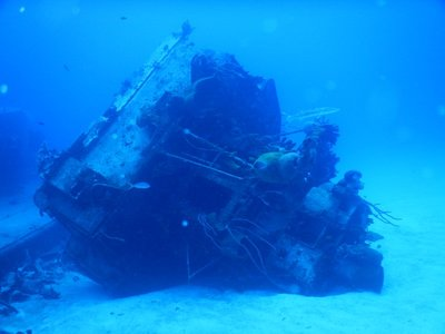 The wreck is the only Russian warship that divers can explore in the Western Hemisphere