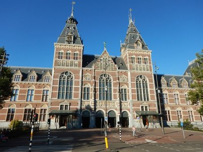 The world's leading museum for the Dutch Golden Age and a beautiful building; I had skipped the Rijksmuseum on prior visits to Amsterdam because of long lines
