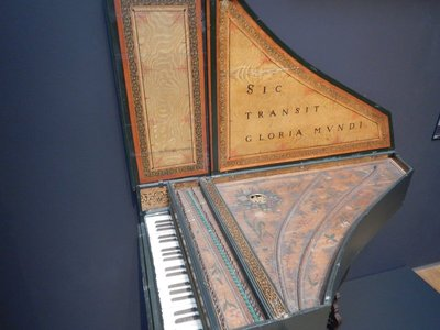 Ruckers, Harpsichord, 1627; the Flemish Ruckers family are, perhaps, the most famous harpsichord makers of all time and this is the only one of its kind to have survived