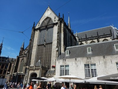 The Nieuw Kerk (New Church) is actually 600 years old; this is where many Dutch royals get married and where new monarchs are inaugurated