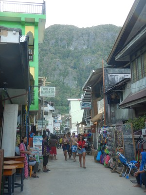The town of El Nido is a haven for backpackers and those not looking for lots of amenities; visitors realize the biggest attractions lie not in town but in the offshore archipelago