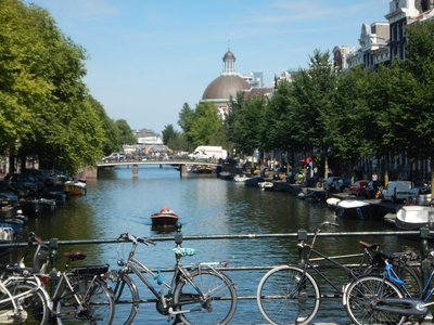Amsterdam is one of the world's best cities in which to walk (or bike); museums and tourist sights are scattered around town but easily connected with public transit
