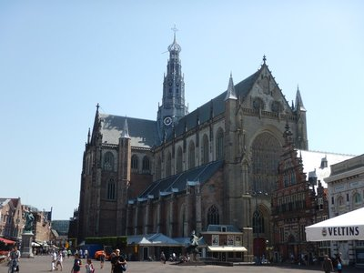 This 15th century Gothic church took more than 150 years to build; St Bavo Church, right in the center of the city, is visible for miles around