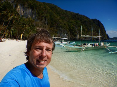 The weather in El Nido in February is ideal; it's dry with sunny skies, mild temperatures and a steady tropical breeze