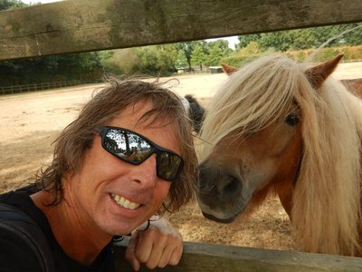 This miniature horse recognized me as a kindred spirit and maybe his long lost twin; the museum is located near Otterlo which is a tiny town close to Arnhem in eastern Holland