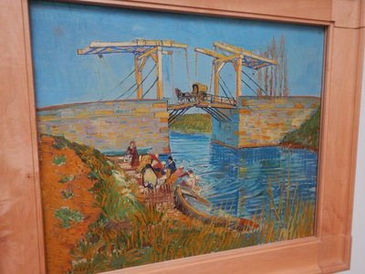 Van Gogh, Bridge at Arles, 1888; Kroller-Muller was one of the first collectors to recognize the genius of Van Gogh and made him the centerpiece of her collection