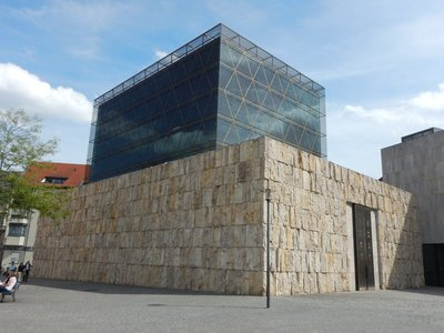 Before World War II, Munich had around 10000 Jews; Hitler tore down their synagogue and killed most of them but in 2006 a new synagogue was built and there are now about 10000 Jews in the city