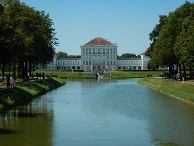 The central pavilion of the Nymphenburg Palace was built in 1675 and served as the summer vacation home of Bavaria's ruling Wittelsbach family