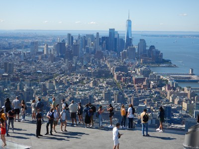Completed in 2014, One World Trade Center dominates the skyline of lower Manhattan and is the tallest building in the country and the 6th tallest in the world; the name Freedom Tower is mainly used by non-New Yorkers