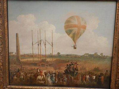 Ibbetson, George Biggins' Ascent in Lunardi's Balloon, 1788