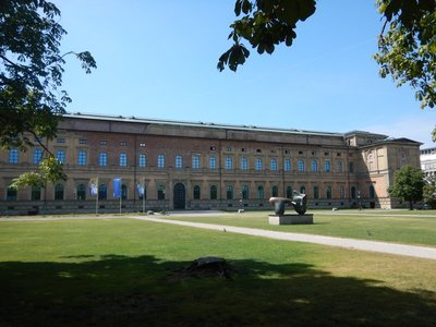 The Alte Pinakothek has world-class masterpieces from the 14th-19th centuries; the museum had dozens of Rubens' and a logical emphasis on German artists