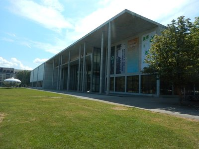 The Pinakothek der Moderne covers art from the 20th century in a variety of media but most of it I found was a waste of time; it's a massive building, poorly organized and very visitor unfriendly