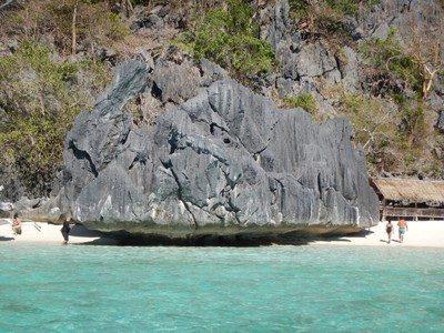 Banul Beach on Coron Island; Coron is part of the Calamian Islands chain which is known as an adventurer's paradise