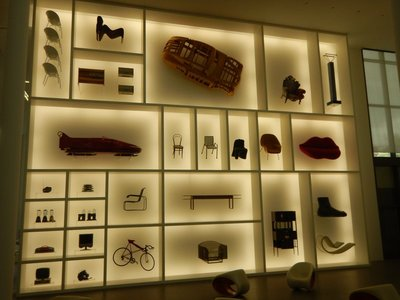The Pinakothek der Moderne had a design wing focused on everyday products that had a unique flair; Rick Steves really liked this museum but I wasn't impressed