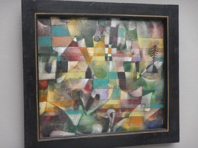 Klee, Landscape with the Yellow Church Tower, 1920; Klee was a member of the influential Munich Blue Rider Group along with Kandinsky