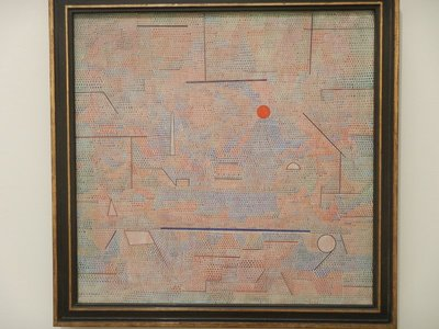 Klee, The Light and More Besides, 1931; of the three modern art museums I visited in Munich, the Pinakothek der Moderne was easily the best