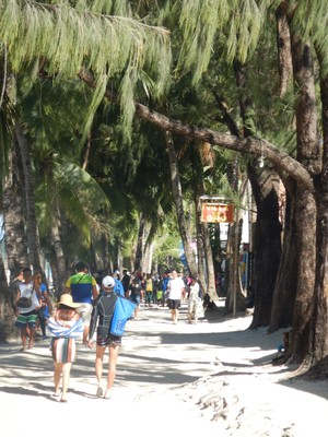 I only spent 4 nights on Boracay and would have enjoyed staying longer to explore less crowded parts of the island; away from White Beach, there are relatively quiet areas to escape the crowds