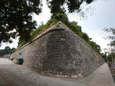 The defensive system of fortified walls stretches for 3 kms around Zadar and is a UNESCO World Heritage Site; Zadar is the 5th largest city in Croatia with just 75,000 people