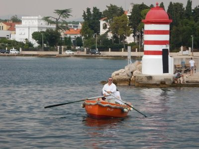 For 800  years the barkajoli (like Venetian gondoliers) have been connecting the two ends of Zadar�s harbor with their small rowboats; this tradition has been passed on from father to son for centuries