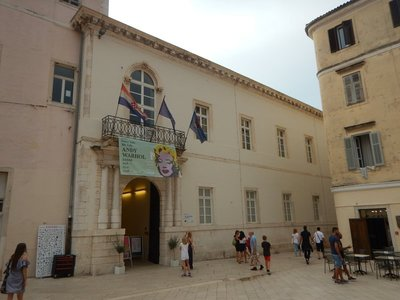 Rector's Palace has an Andy Warhol (born into a poor family of Slovak emigrants) exhibition that ran through September featuring 90 works; last year, the palace hosted a Chagall exhibition