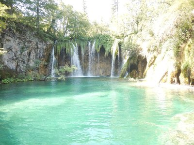Plitvice is home to 16 different lakes which change color by the second; within the blink of an eye, you can see blue, green, aquamarine and turquoise; this is due to the way the sun hits the water and the number of organisms and minerals