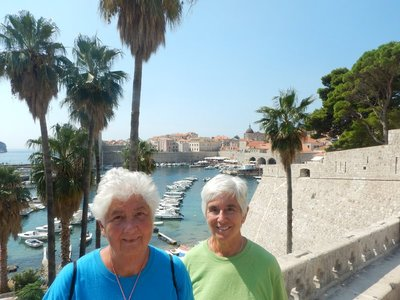 Dorothy and Marilyn had visited Dubrovnik the week prior on a different cruise and opted to visit the nearby town of Cavtat which they really liked