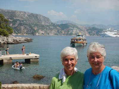 The boat ride to Lokrum offers some of the best views of Dubrovnik; Croatia still uses the kuna rather than the euro but prices are no cheaper than in Western Europe