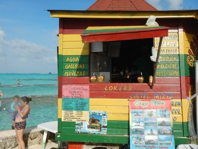 San Andres has no industry of its own so everything has to be shipped or flown in; once served as base for notorious English pirate Henry Morgan