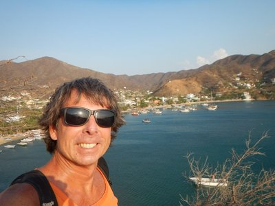 Taganga was a 4 hour van ride east of Cartagena and a 10 minute taxi ride from the large city of Santa Marta
