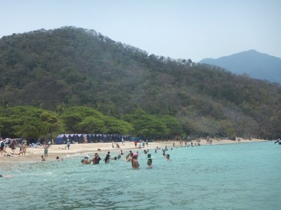 The few beaches OK for swimming were sandy meaning the snorkeling wasn't very good; they also tended to be on the far west side of the park