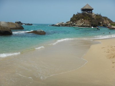 Cabo San Juan is the primary destination at Tayrona National Park; the water was rough but the snorkeling surprisingly good