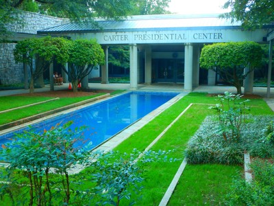The Carter Center was founded in 1982 and opened in 1986; it is only 2 miles from downtown and on the Atlanta Beltine