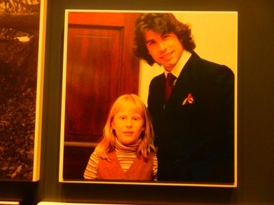 John Travolta visited the White House for Amy Carter's birthday; she is the youngest of the Carter's four children and lives with her husband and son in Atlanta outside of the public eye