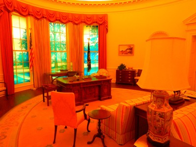 Like other presidential museums, the Carter Center has a replica Oval Office from Carter's time in the White House; Carter was motivated to enter politics to oppose the climate of racial segregation and support the growing civil rights movement