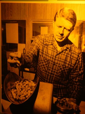Much was made of Jimmy Carter's background as a peanut farmer; he inherited the business from his father in 1953 and under his guidance the business grew substantially