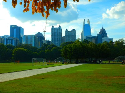 In the early 20th century, a redesign plan for Piedmont Park called the Olmsted plan, was begun by the sons of New York Central Park architect, Frederick Law Olmsted