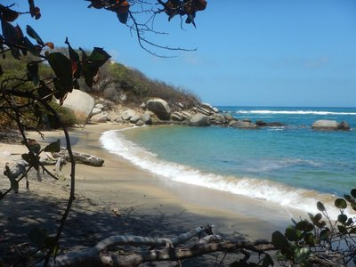 The Tayrona Indians arrived in the region around 400 AD with their descendants still living in small villages within the national park