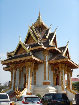 Shrine of the Vientiane City Pillar was built in 2007 to house the ancient city pillar and 473 stone artifacts that date from 1540