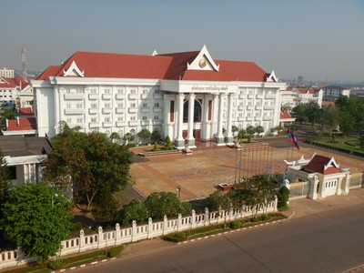 The Ministry of Justice; the economic boom in Southeast Asia seems to have bypassed Laos; there are small signs of progress but the country greatly lags its neighbors