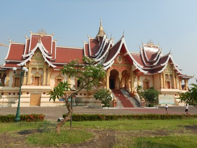 Vientiane was more modern than the rest of Laos but I would have preferred if we had just seen Luang Prabang and then flown from there to Hanoi