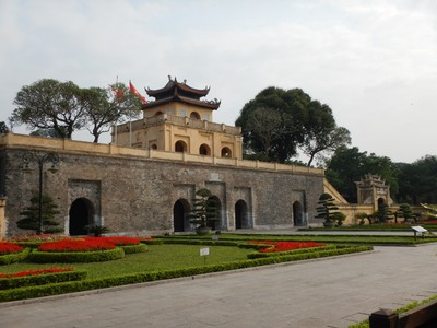 The Imperial Citadel of Thang Long is a UNESCO World Heritage Site dating from the 7th century; 5 million tourists a year visit Hanoi but it's not the easiest city to see