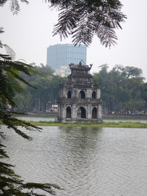 Turtle Tower was built in 1886 in Hoan Kiem Lake; Hanoi is the most affordable international destination in TripAdvisor's annual TripIndex report
