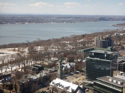 The Plains of Abraham and the St. Lawrence; more than 90% o citizens are Catholic; the city hosts a second tier WTA event annually