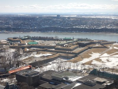 Built at the city's highest point, the Citadelle is the largest fortified base in North America still occupied by troops